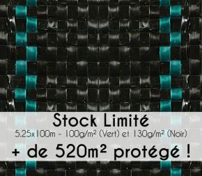 Toile de paillage 525 cm - Stock Limité !