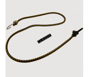 Tendeur Crochet & Mousqueton (115cm) - Noir x10
