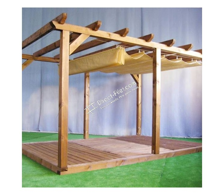 store de pergola 3x4m tout inclus direct. Black Bedroom Furniture Sets. Home Design Ideas