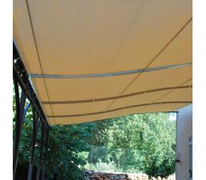 Toile d'ombrage 4 x 3 m - Imperméable