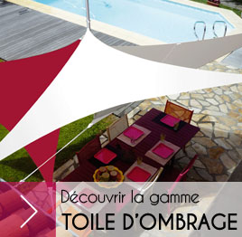gamme toile d'ombrage