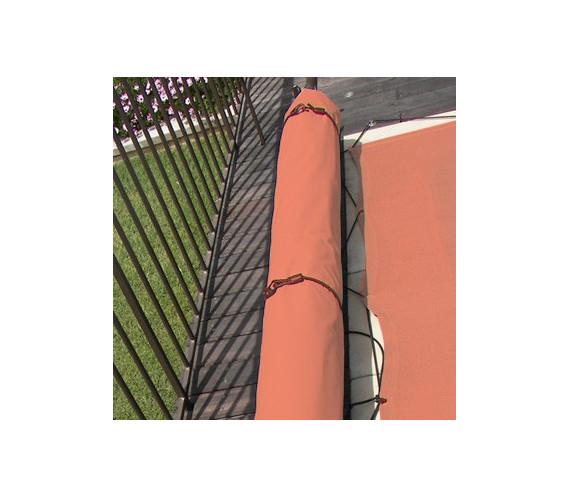 Protection bâche en 5 M Terracotta