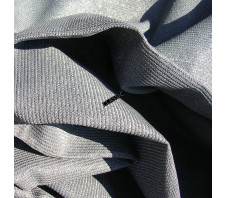 ANTHRACITE - Toile Ombrage 4 x 4 x 5.6 m - Perméable
