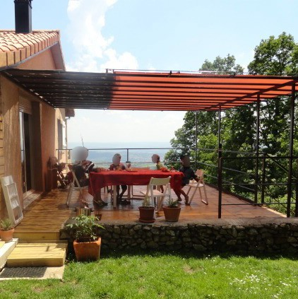 Toile pergola imperm able rectangle 6 x 4 m - Pergola impermeable ...
