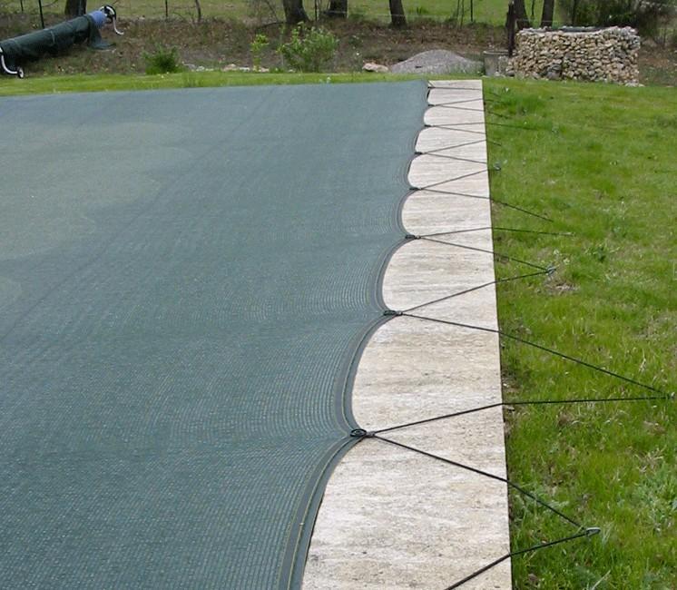 Filet anti-salissures 6 x 12m + Connecteur pont