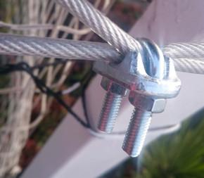 Serre-câble - 6mm - Acier galvanisé