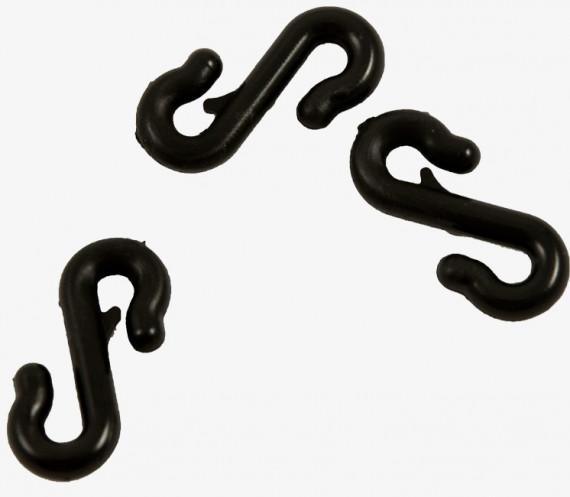 """Crochet """"S"""" pour filet à ramer"""