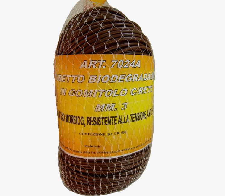 Tubetto Biodégradable - Bobine 500g (Lien de palissage)