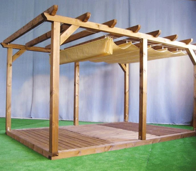 stores pour pergola 3x4 kit de fixation. Black Bedroom Furniture Sets. Home Design Ideas