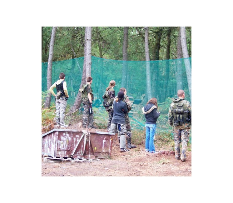 Filet Paintball 65g/m² - 4m