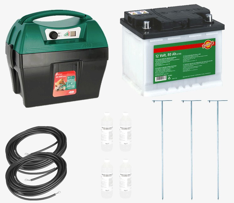 Kit Electrificateur mobile 12 V
