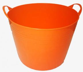 Panier souple Jardin récolte - orange