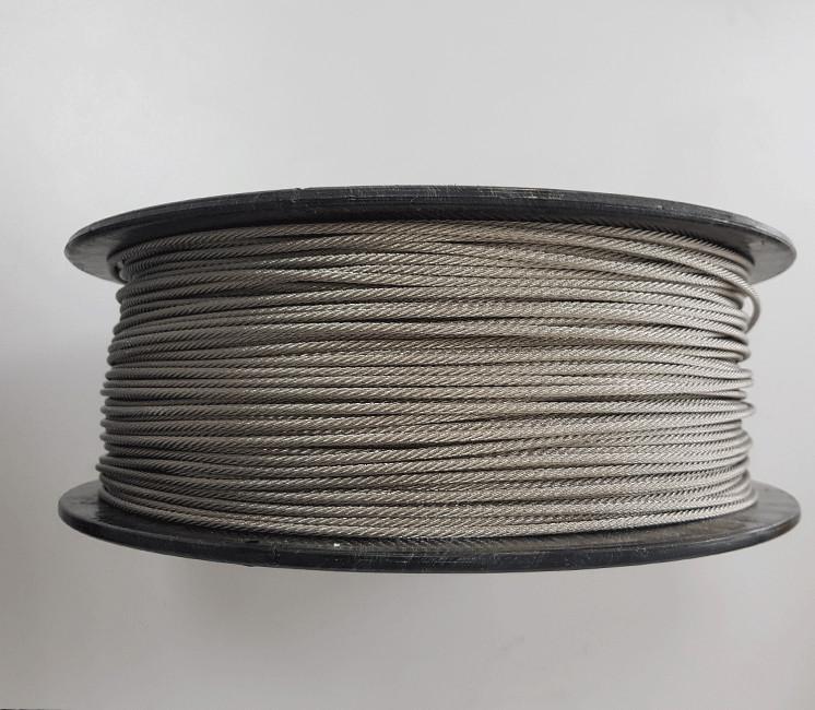 Câble Inox (Qualité 316) - touret de 200m