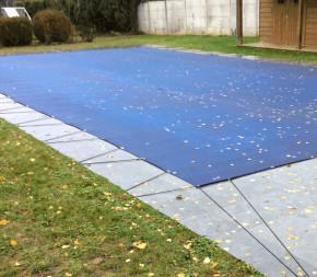 Nappe d'hivernage pour piscine 6.5x12.5m