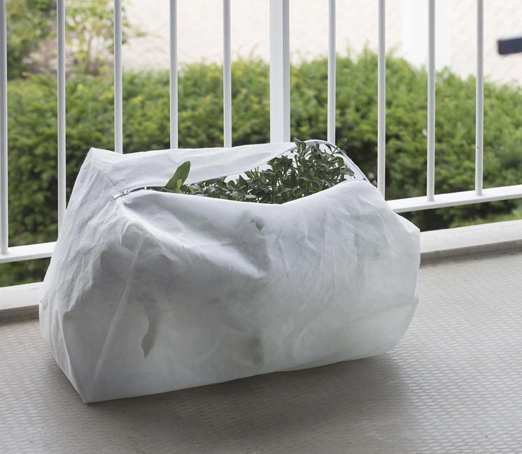 Lot de 3 housses d'hivernage pour jardinière 70g/m²