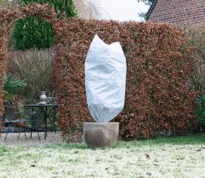 Housse d'hivernage 50g/m² avec cordelette de serrage