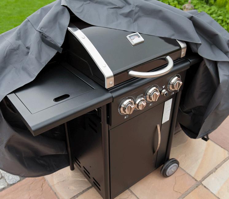 Housse de protection pour barbecue à gaz ou au charbon