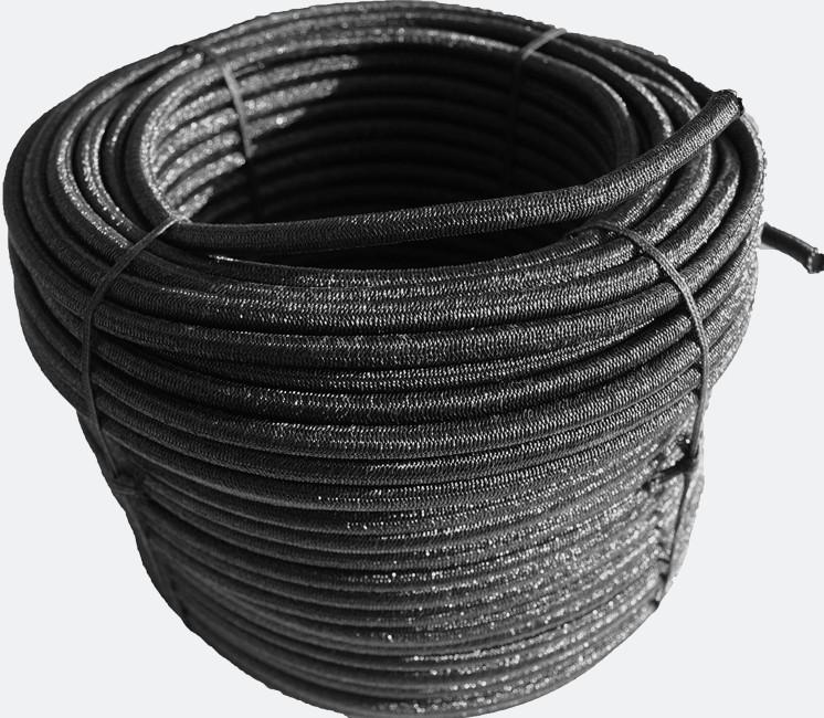 Bobine de sandow noire 50m