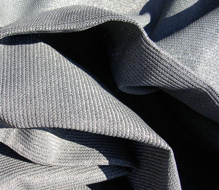 Voile perméable Anthracite 1.40x3m