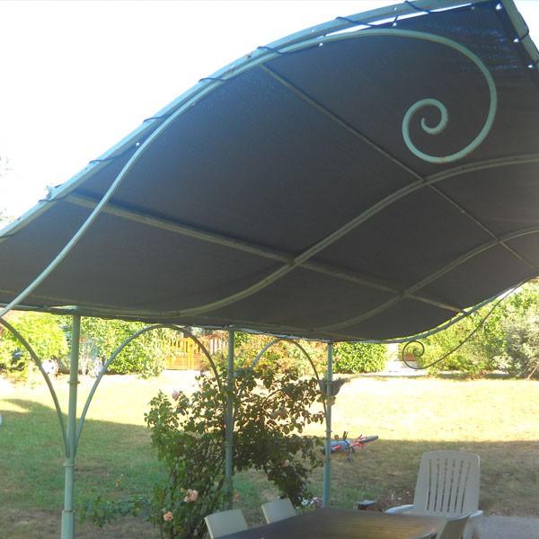 Toile d'ombrage 6 x 3 m - Imperméable